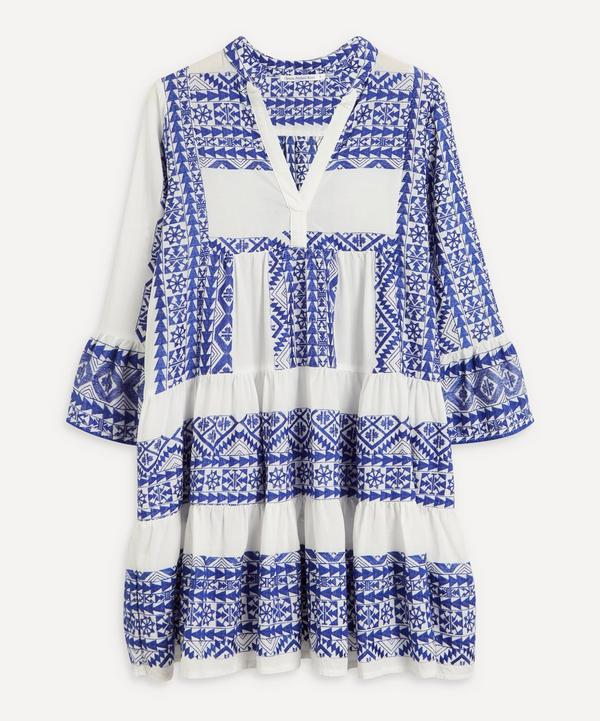 Kori - Embroidered Mini-Dress
