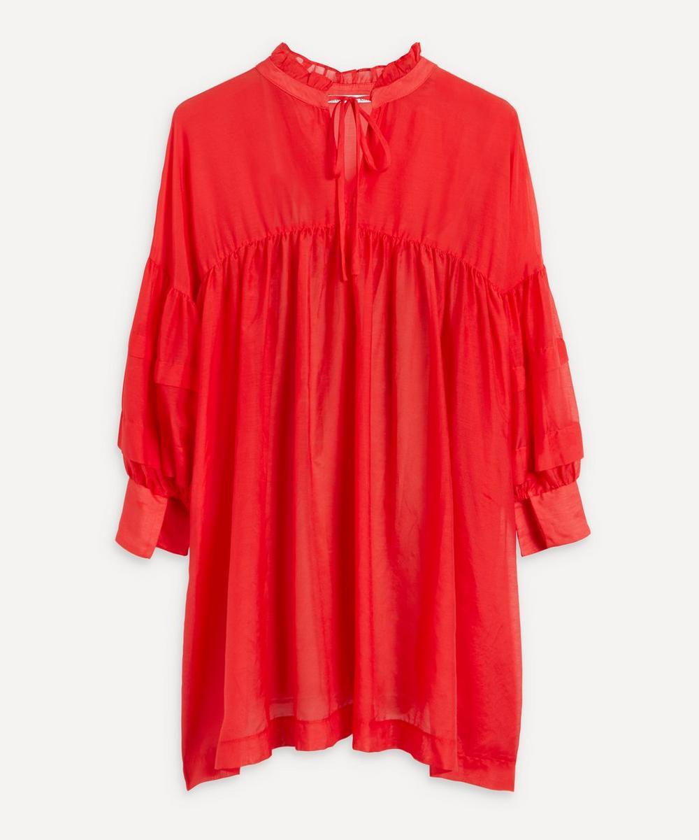 Kori - Silk-Cotton Mini-Dress