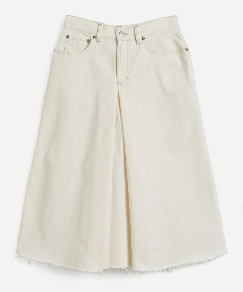Maison Margiela - Wide-Leg Denim Culottes