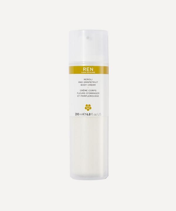 REN Clean Skincare - Neroli and Grapefruit Body Cream 200ml