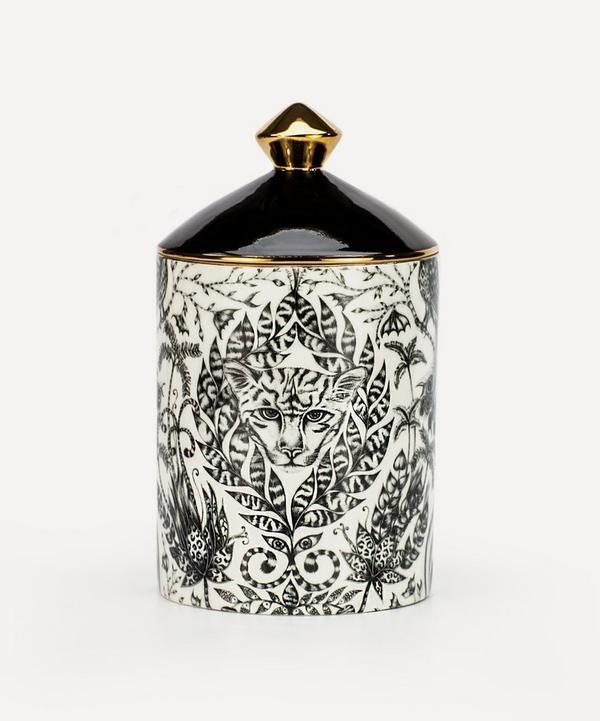 Emma J Shipley - Amazon Bone China Green Fig and Cedarwood Candle 650g