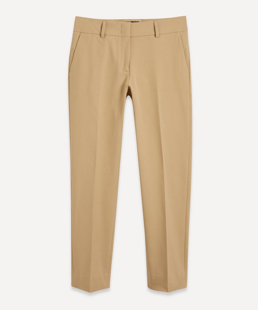 Piazza Sempione - Classic Solid Colour Trousers