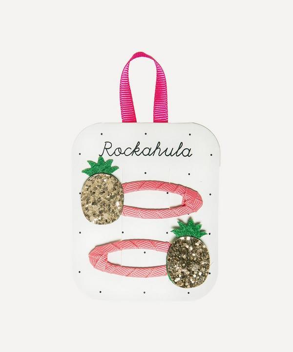 Rockahula - Pineapple Hairclips