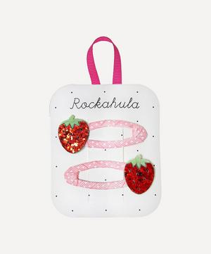 Sweet Strawberry Hairclips