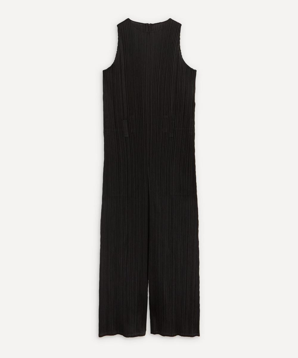 Pleats Please Issey Miyake - Monthly Colours Sleeveless Jumpsuit