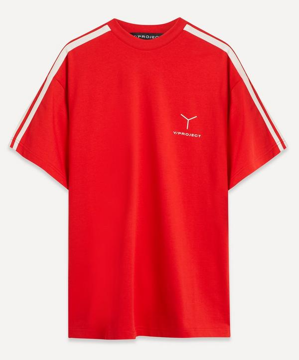 Y/PROJECT - Logo Clip Shoulder Oversized T-Shirt