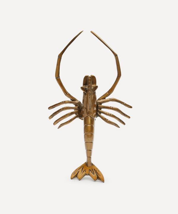 Rockett St George - Brass Lobster Display Ornament