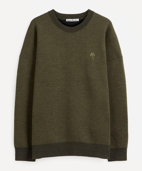 Acne Studios - Logo Embroidered Crew-Neck Sweater