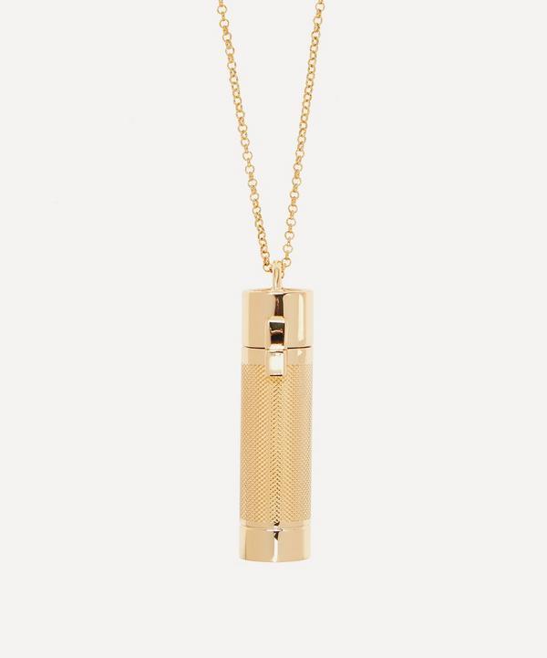 Veronique Gabai - Gold-Tone Saint Tropez Perfume Holder Pendant Necklace