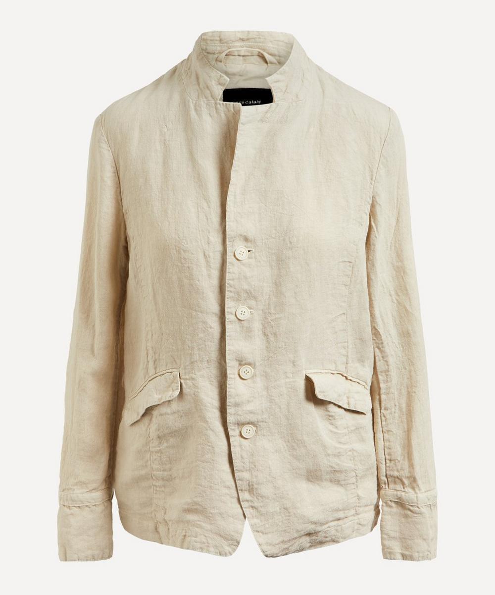 pas de calais - Classic Linen Jacket