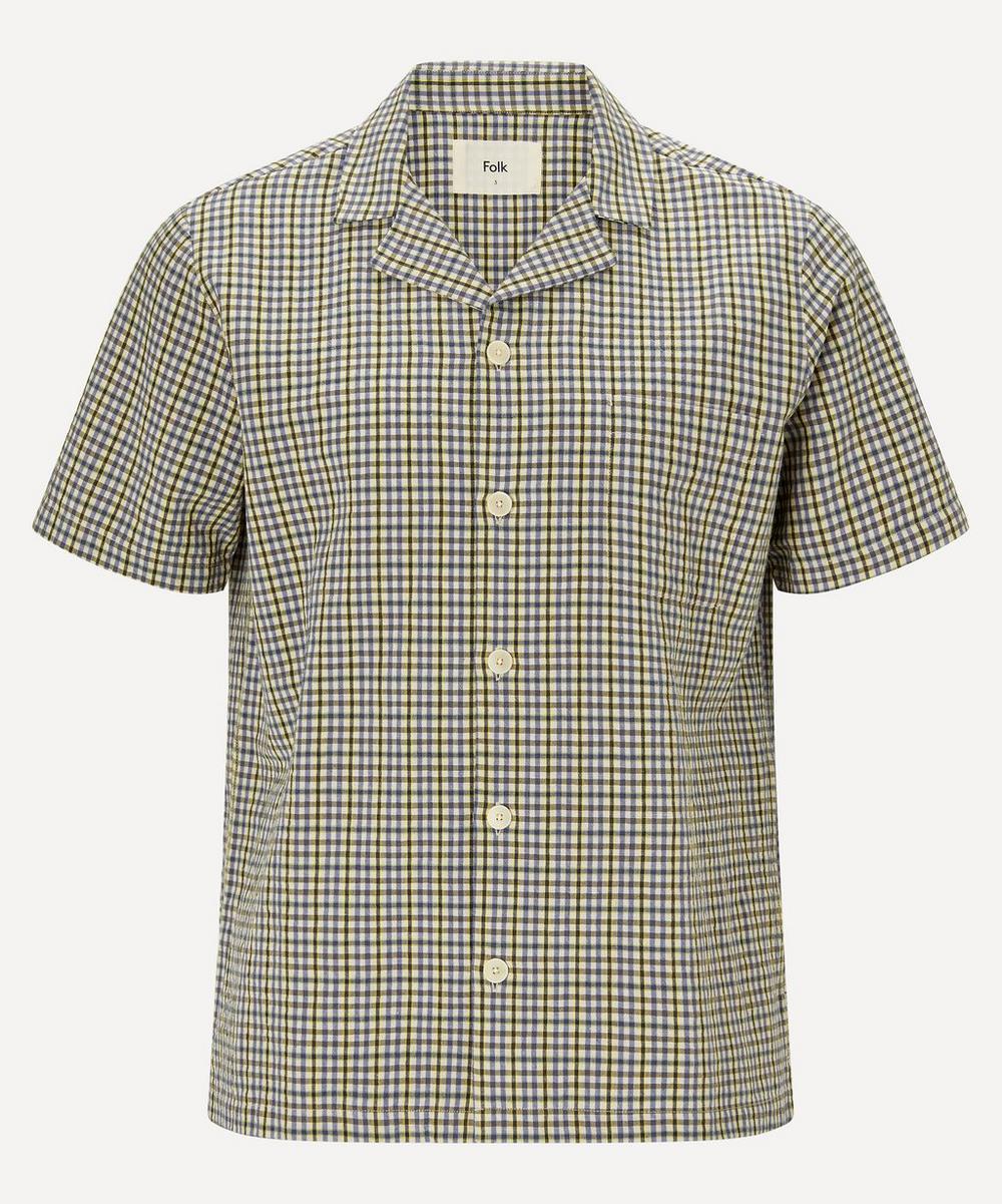 Folk Shirts SOFT COLLAR SHORT-SLEEVE SHIRT