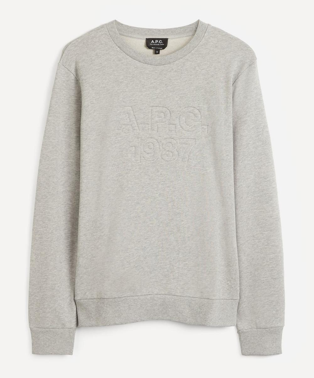 A.P.C. - Dan Embroidered Logo Sweatshirt
