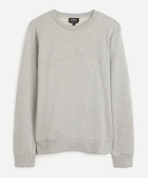 Dan Embroidered Logo Sweatshirt