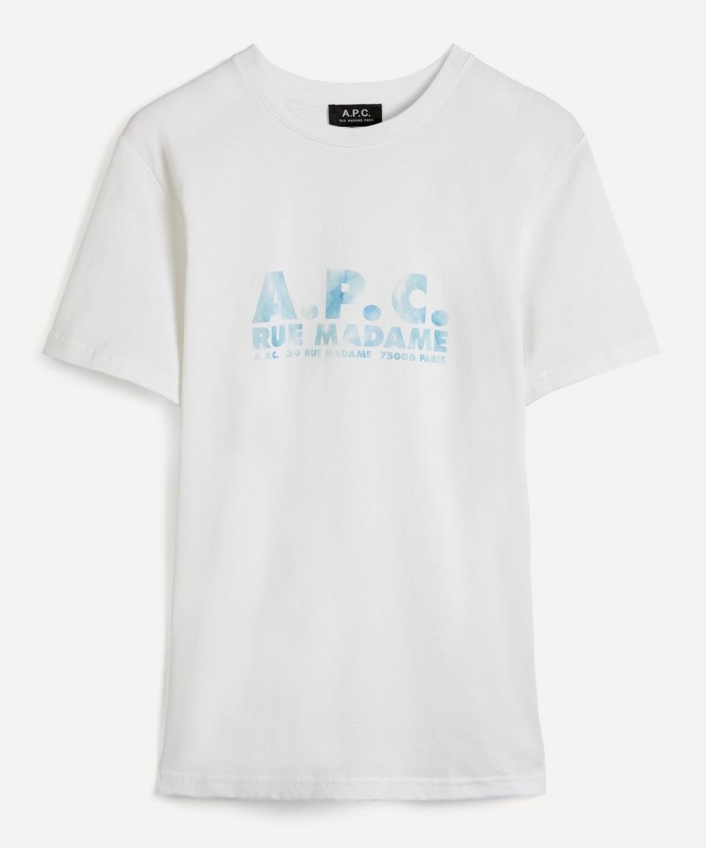 A.P.C. - Bobby Faded Logo T-Shirt
