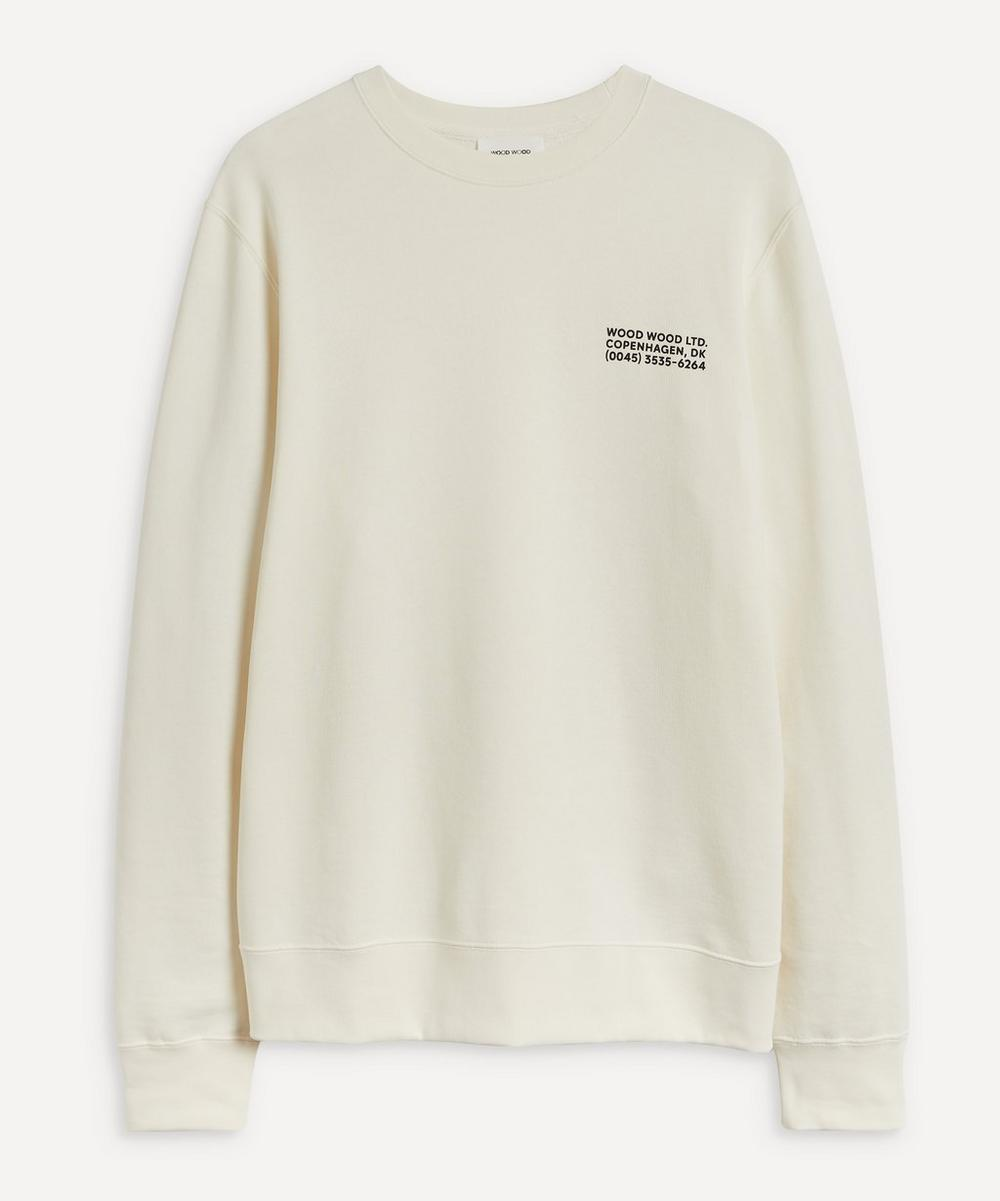 Wood Wood HUGH INFO SWEATSHIRT