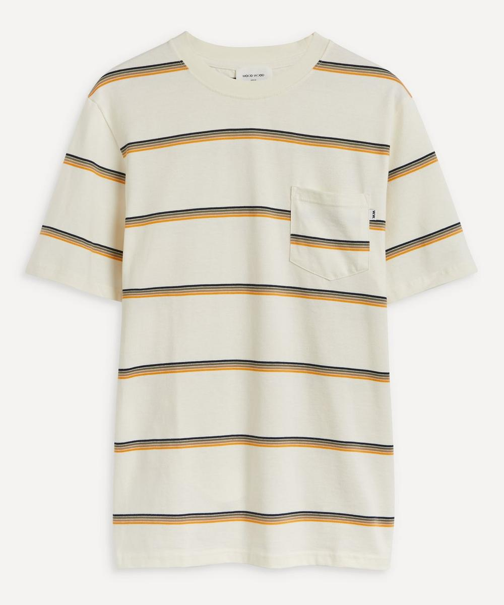 Wood Wood BOBBY STRIPED T-SHIRT