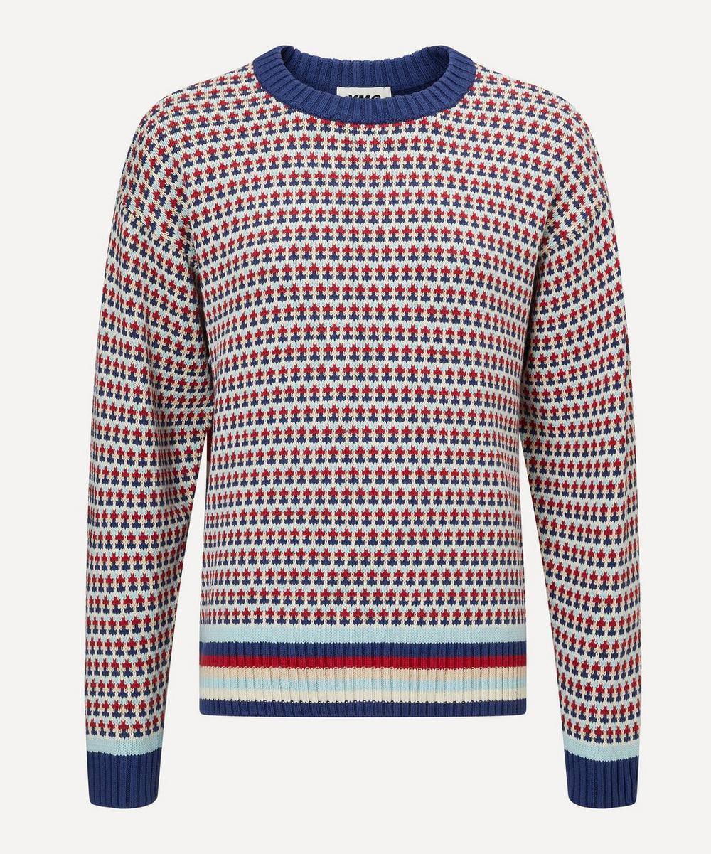 Ymc You Must Create Cottons DAWG OVERSIZED STRIPE JUMPER
