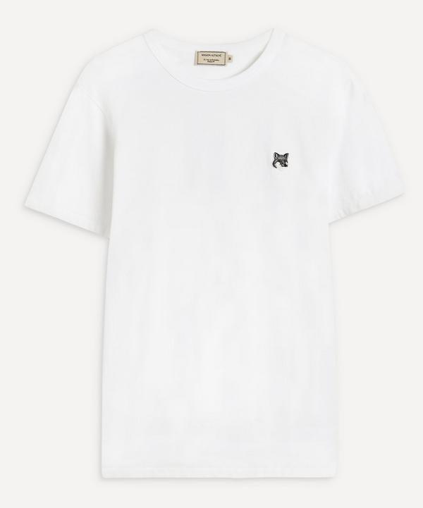 Maison Kitsuné - Grey Fox Head Patch T-Shirt