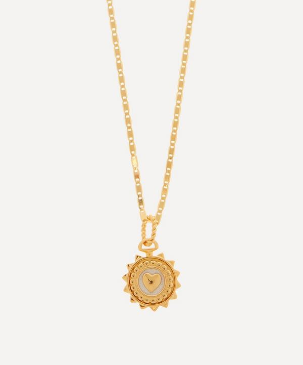 Maria Black - Gold-Plated Love Coin Jodie Pendant and Karen Necklace Set