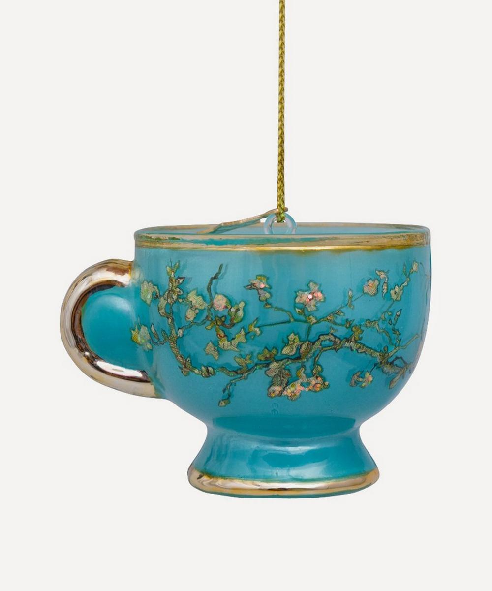 Unspecified - Van Gogh Teapot Glass Tree Ornament