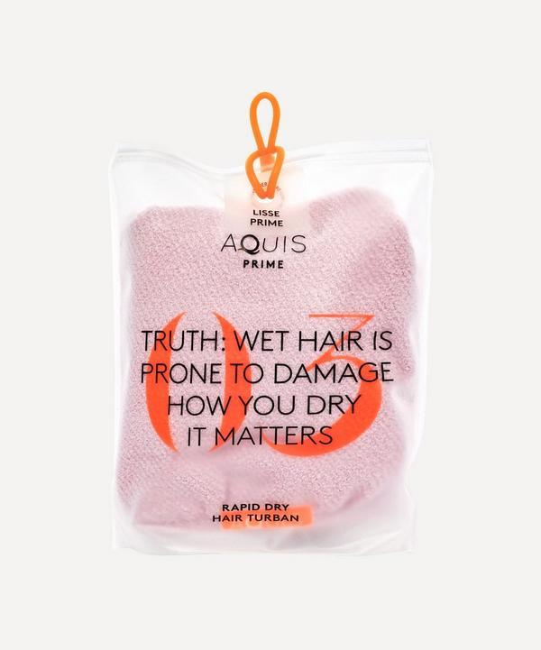 AQUIS - Lisse Luxe Hair Wrap in Desert Rose