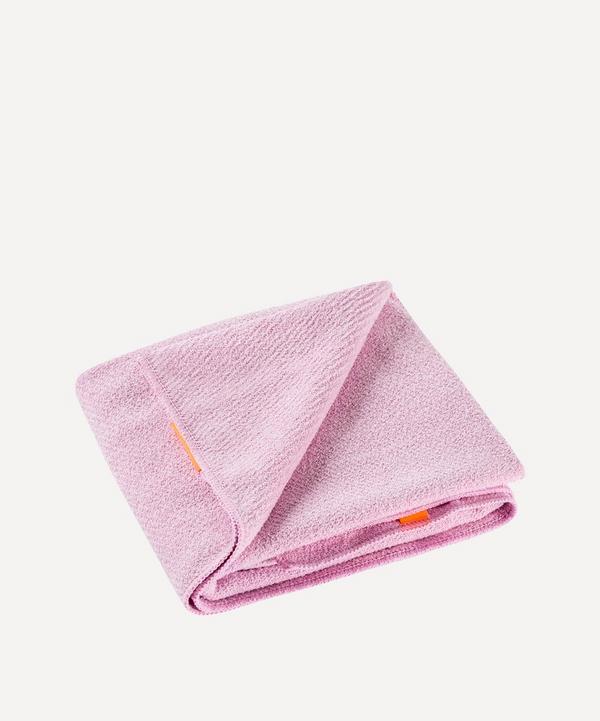 AQUIS - Lisse Luxe Hair Towel in Desert Rose