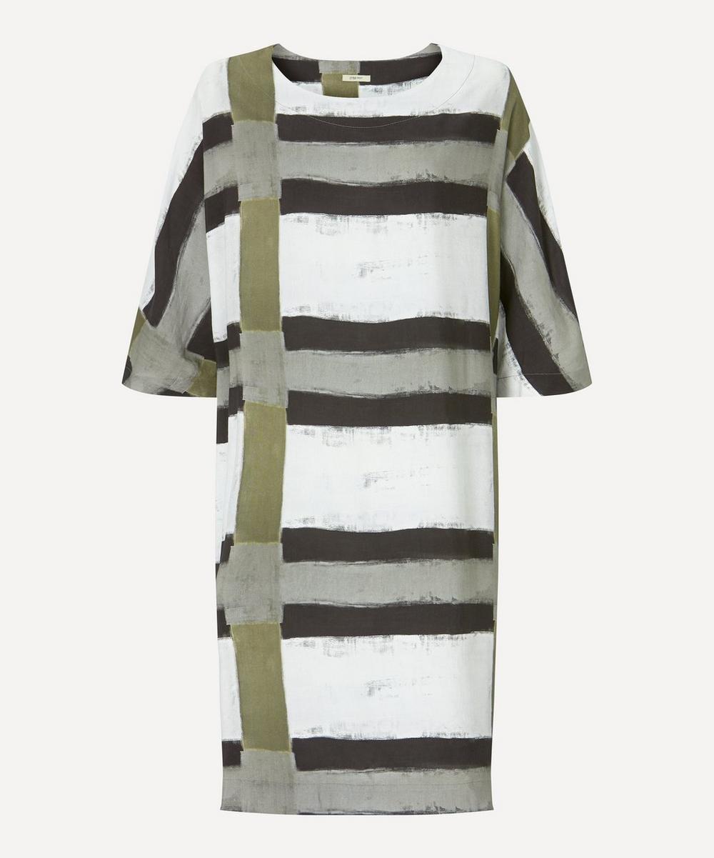 Crea Concept - Linen-Blend Stripe Dress