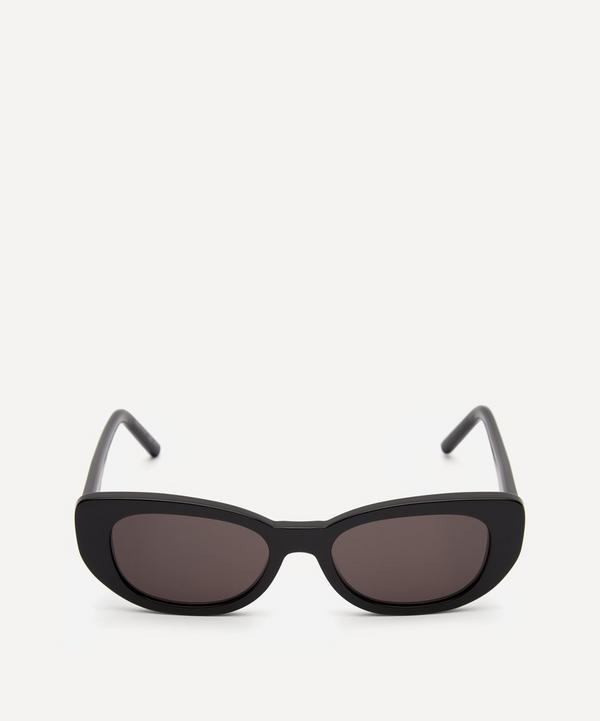 Saint Laurent - Betty Oval Sunglasses