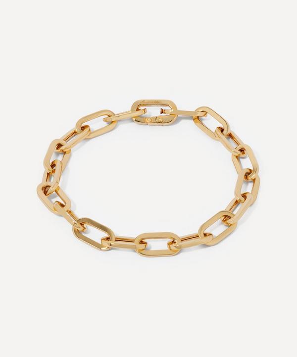 Annoushka - 18ct Gold Cable Chain Large Bracelet