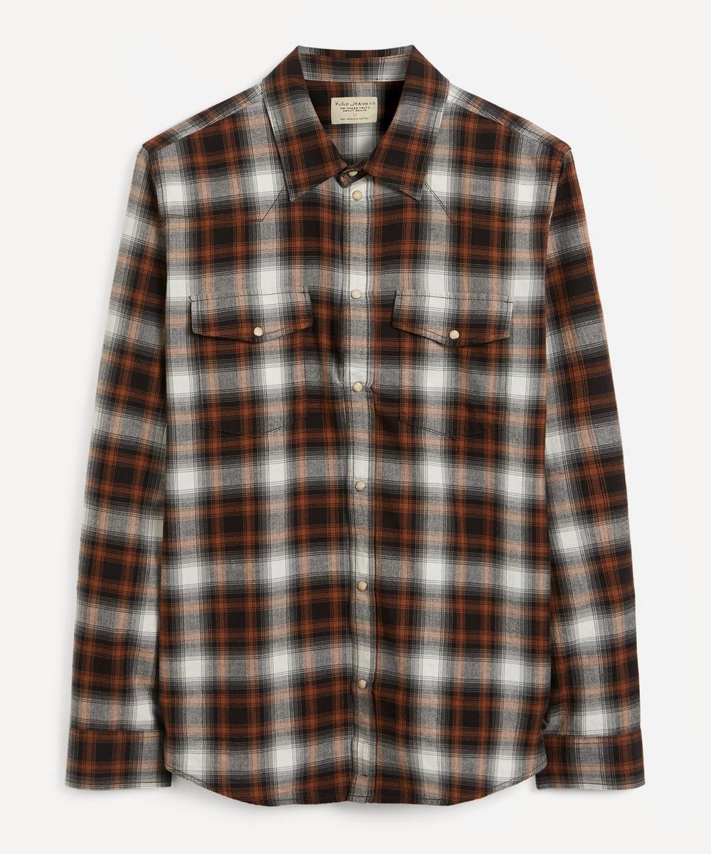 Nudie Jeans - George Shadow Check Shirt