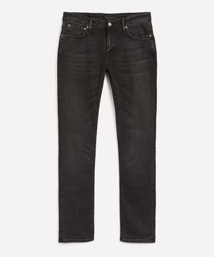 Skinny Lin Worn Black Jeans