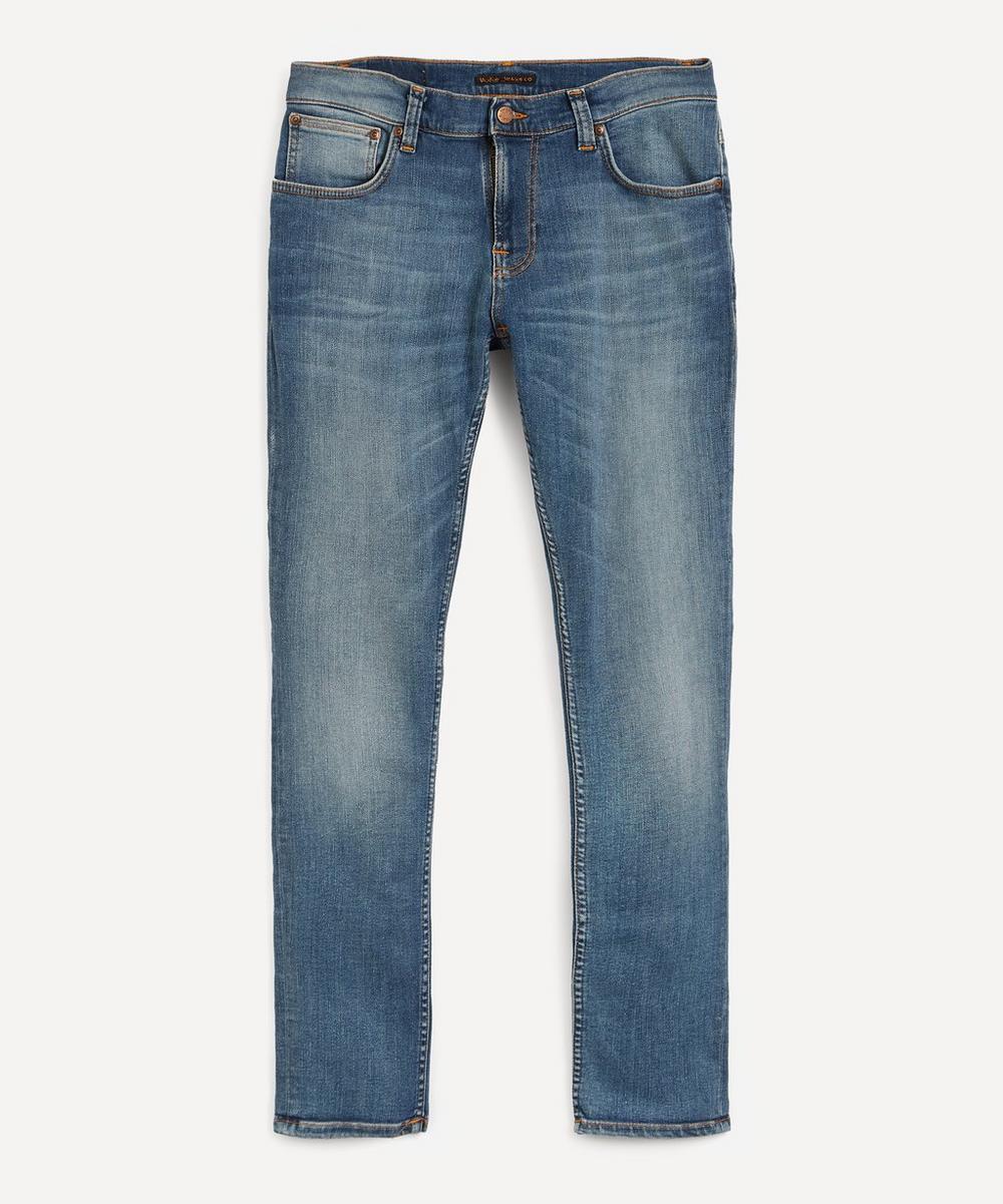 Nudie Jeans - Tight Terry Steel Navy Jeans