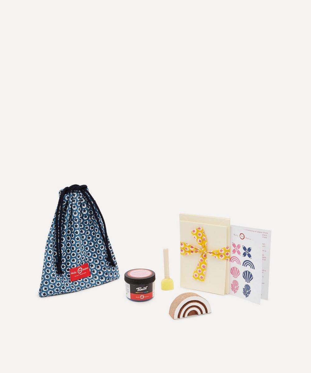 Molly Mahon - Card Block Print Kit Rainbow Indigo