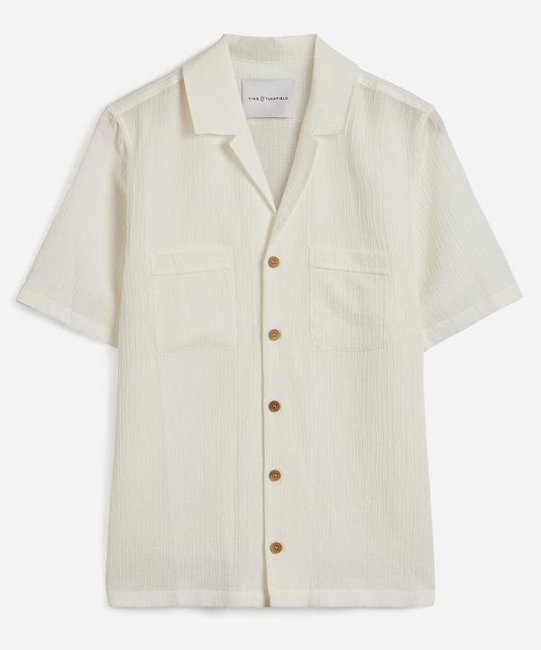 King & Tuckfield - Crinkle Bowling Shirt