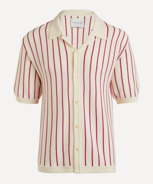 King & Tuckfield - Camp Collar Merino Wool Shirt