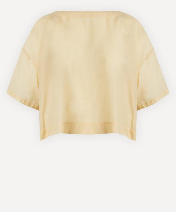King & Tuckfield - Ruched Back Blouse