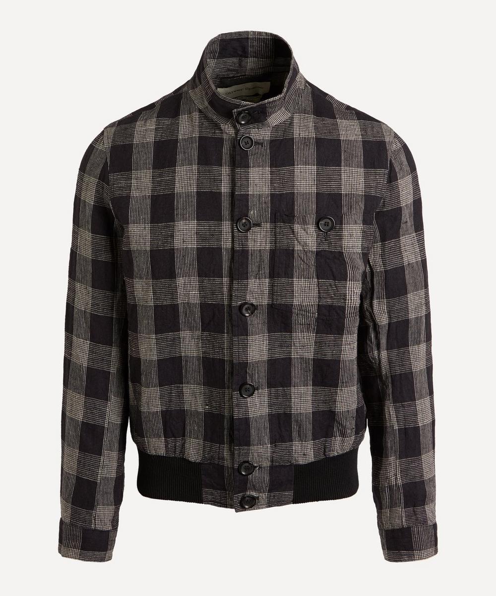 Oliver Spencer - Ryde Check Bomber Jacket