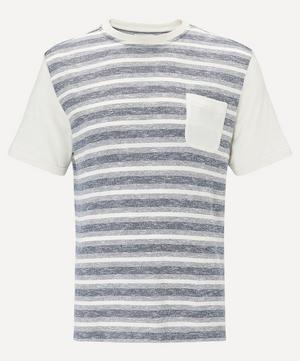 Contrast Pocket Stripe T-Shirt