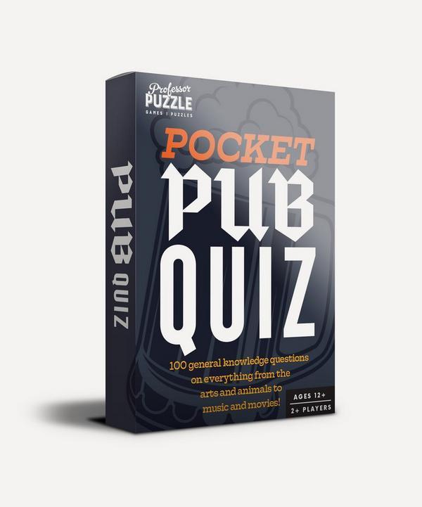 Professor Puzzle - Pocket Pub Quiz