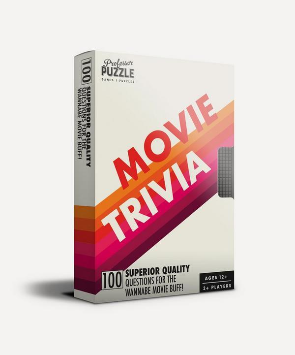 Professor Puzzle - Mini Movie Trivia Quiz