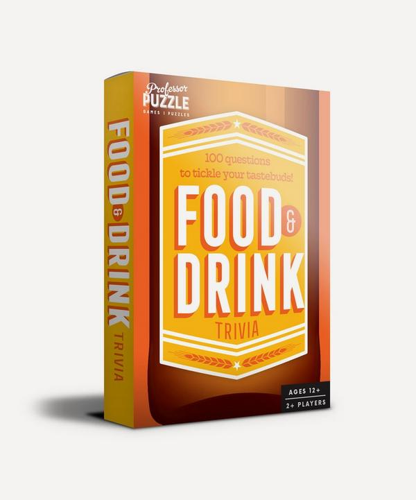 Professor Puzzle - Mini Food and Drink Trivia Quiz