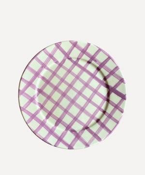 Sweet Me Gingham Dessert Plate