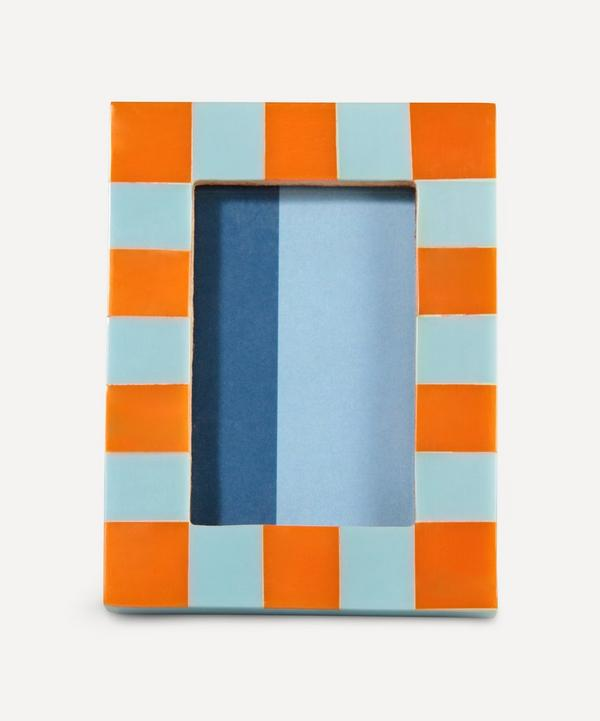 Klevering - Small Rectangle Check Photo Frame
