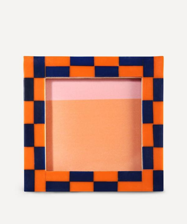 Klevering - Square Check Photo Frame