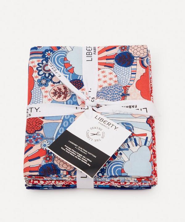 Liberty Fabrics - Carnaby Lasenby Cotton Fat Quarter Bundle – Retro Indigo