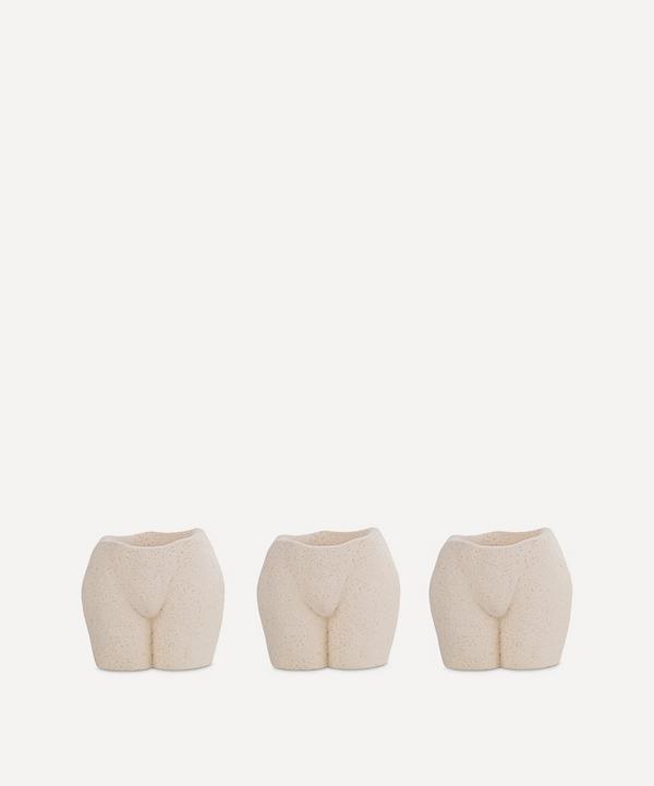 Anissa Kermiche - Rock Bottom Tealight Holders Set of Three