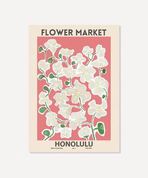 Honolulu Unframed Print