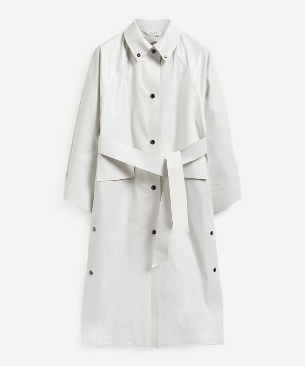KASSL Editions - Kimono Below The Knee Oiled Coat