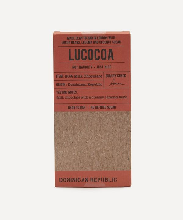 Lucocoa - 50% Dominican Republic Milk Chocolate Bar 50g