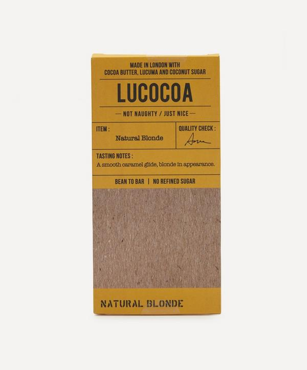 Lucocoa - Natural Blonde White Chocolate Bar 50g